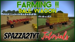 Bale Wagon Minecraft Map & Project