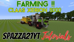 Claas Xerion 5000 Minecraft Map & Project