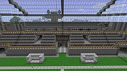 Footballstadium Minecraft Map & Project