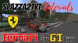 Ferrari 206/246 GT (Dino) Minecraft Map & Project