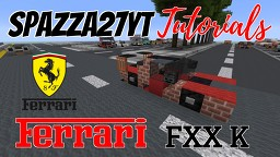 Ferrari FXX K Minecraft Map & Project