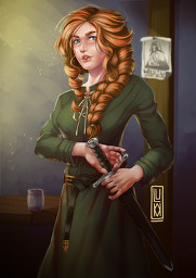 [LOTC] Florence Silversteed - Commission Minecraft Blog