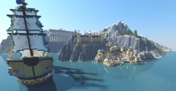 GREAT PORT VILLAGE Minecraft Map & Project