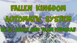 Fallen Kingdom Automatic System 1.14   Up to 4 teams   No Plugin Minecraft Map & Project