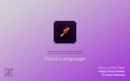 [ v1.7 | 1.16.2 ] - Food Lang - Adds Food Bar to Item Names | FULL LANGUAGE SUPPORT! Minecraft Texture Pack