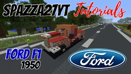 Ford F1 1950 Minecraft Map & Project