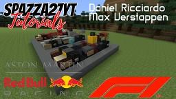 Formula 1 - Aston Martin Red Bull Racing 2018 Minecraft Map & Project