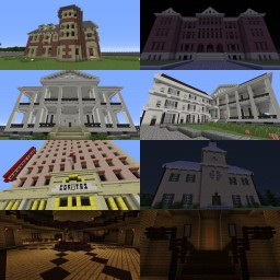 American Horror Story - The World Minecraft Map & Project