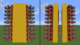 Hidden 2xN Piston Door Minecraft Map & Project