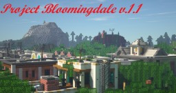 TOWN MAP RELEASE, Project Bloomindale V.1A Minecraft Map & Project