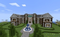 Fully Decorated Survival House/Mansion Minecraft Map & Project