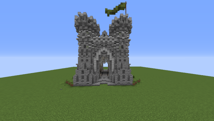 Castle Gate Gates 01 Minecraft Map