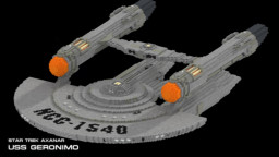 USS Geronimo NCC-1540 Minecraft Map & Project