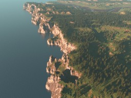 Northumbrian Coastline - 2K x 4K Map Minecraft Map & Project