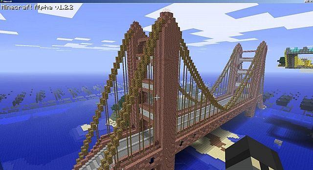 Golden Gate Bridge Minecraft Project