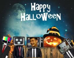 Tv Halloween HD (Bedrock Edition 1.12) Minecraft Mod
