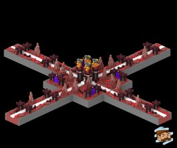 HCF Nether Spawn [50x50] Minecraft Map & Project