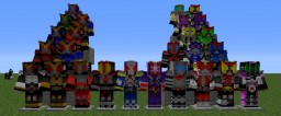 Minecraft Kamen Rider Addon (for LucraftCore and HeroesExpansion) Minecraft Mod