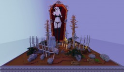 Helloween young lady Minecraft Map & Project