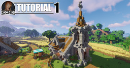 Medieval Church  + Interior Minecraft Map & Project