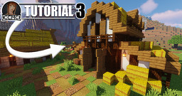 Medieval Horse Stable / Barn Tutorial + Download Minecraft Map & Project