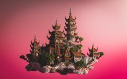 hikaru - oriental hub Minecraft Map & Project