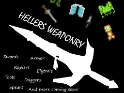 Heller`s weaponry pack by AdamsHeller (1.14) Minecraft Texture Pack