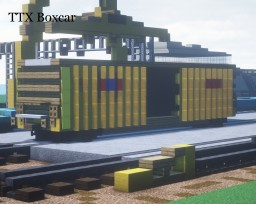 TTX Boxcar Minecraft Map & Project