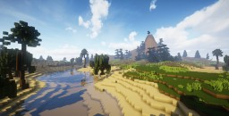 500x500 Mountain / River RPG Map or Warzone. Minecraft Map & Project