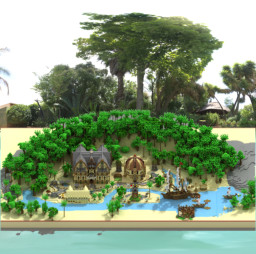 island map for sale Spawn+Shop+Vip+İnfo+fish Minecraft Map & Project
