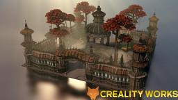 Spawn futuristic Minecraft Map & Project