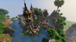 Spawn Medival Minecraft Map & Project