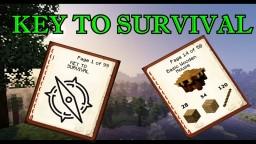 KEY TO SURVIVAL! (Minecraft Journey) Episode 2 Minecraft Blog