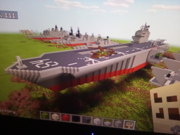 Helicopter carrier Minecraft Map & Project