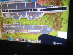 Aircraft carrier with F35 jets Minecraft Map & Project