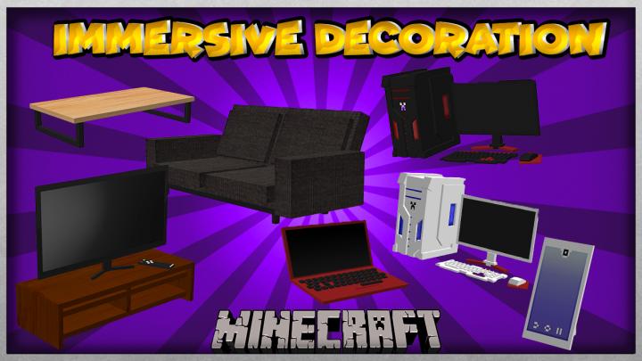 Immersive Decoration 1 12 2 Minecraft Mod