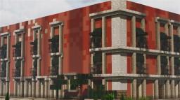 Casa de la Primera Imprenta de América, Templo Mayor, Ciudad de México Minecraft Map & Project