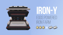 IRON-Y / Eggs Powered Iron Farm Minecraft Map & Project