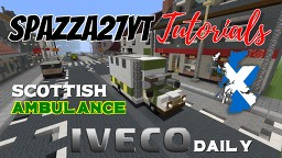 Iveco Daily - Scottish Ambulance Minecraft Map & Project