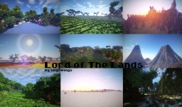 Lord of The Lands (Custom Terrain) Minecraft Map & Project