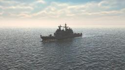USS CG-65 Chosin Ticonderoga Class Minecraft Map & Project
