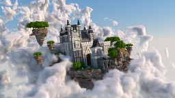 Sky Castle Island Minecraft Map & Project