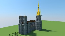 Saint-Lambert's Cathedral of Liège Minecraft Map & Project
