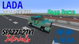 Lada Vesta Sedan Minecraft Map & Project