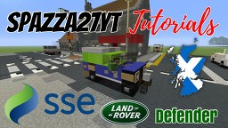 Land Rover Defender - Scottish & Southern Energy Minecraft Map & Project