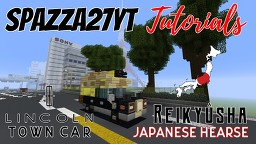 Lincoln Town Car - JJapanese Hearse Minecraft Map & Project