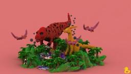 Jurassic Island Spawn Minecraft Map & Project