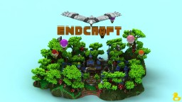 ENDCRAFT Village Lobby Minecraft Map & Project