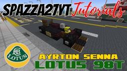 Lotus 98t - Ayrton Senna Minecraft Map & Project