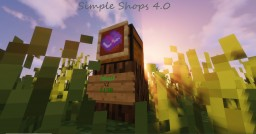 Simple Shops v4.0 - A Simple, Shops Economy Datapack Minecraft Data Pack